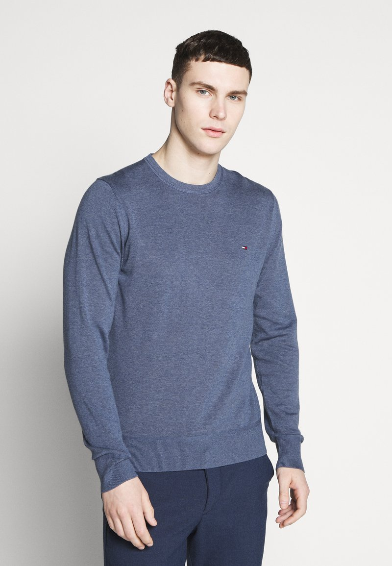 Tommy Hilfiger - CREW NECK - Maglione - blue