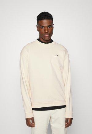 BOX LOGO CREWNECK - Sweatshirt - light sand