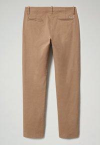 Napapijri - MERIDIAN - Trousers - beige portabel - 1