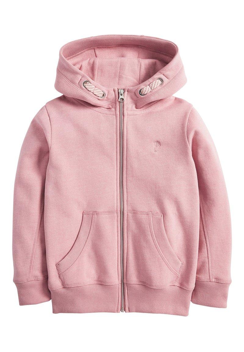 Next - FLURO - Zip-up hoodie - mottled light pink