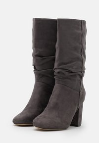 Dorothy Perkins - ROUCHED BOOT - Boots - grey - 2
