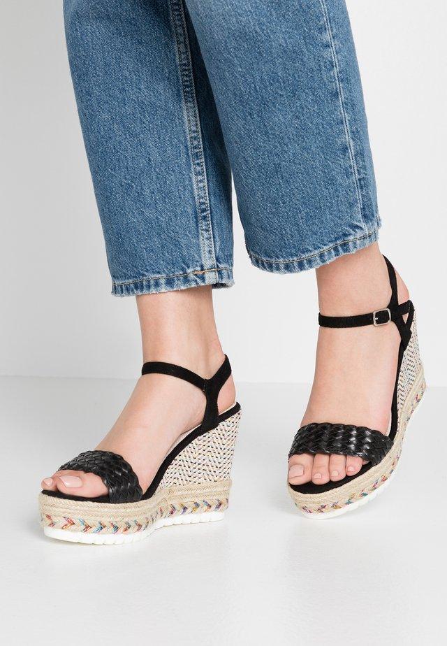 CASSANDRA - High heeled sandals - noir