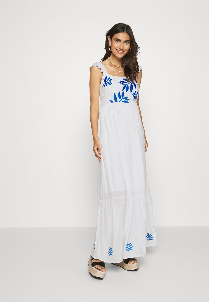 comma - Długa sukienka - off white