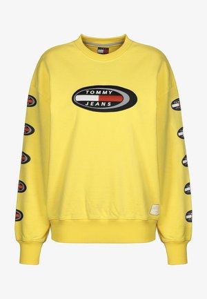 SUMMER OVAL W - Sweatshirt - goldfinch