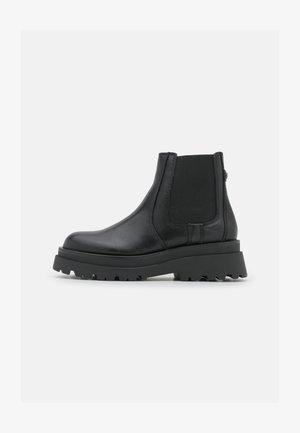 STOMPD - Platform ankle boots - black