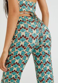 PULL&BEAR - Trousers - turquoise - 4