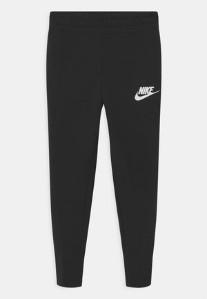 CLUB - Tracksuit bottoms - black/white