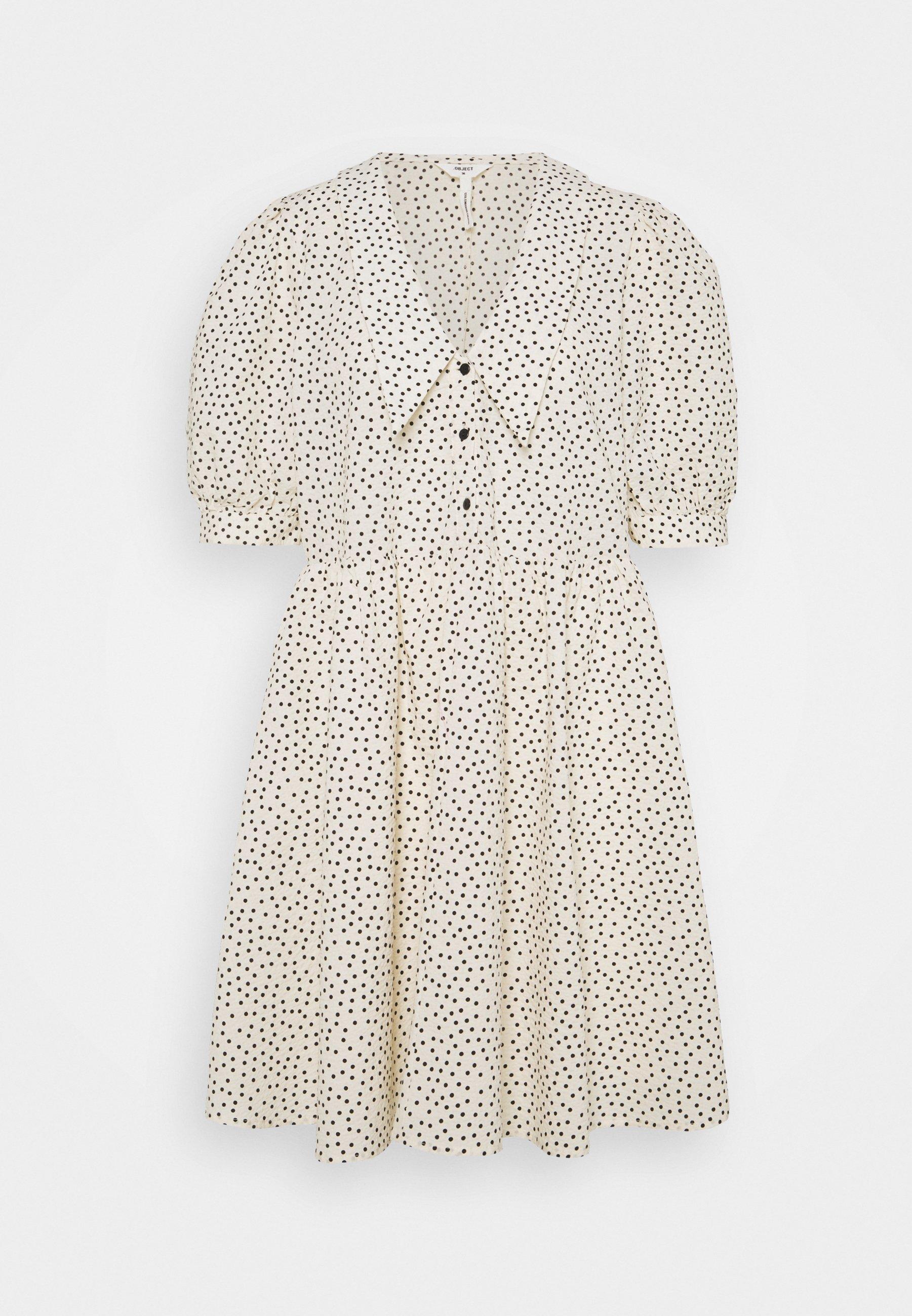 Women OBJNOUR DRESS - Shirt dress