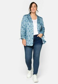 Sheego - Blazer - blue - 1