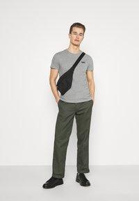 Superdry - VINTAGE TEE - Basic T-shirt - grey marl - 1