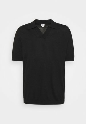SHORT SLEEVE - Pikeepaita - black