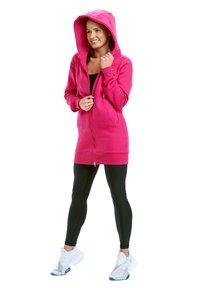 Winshape - Zip-up hoodie - deep pink - 2