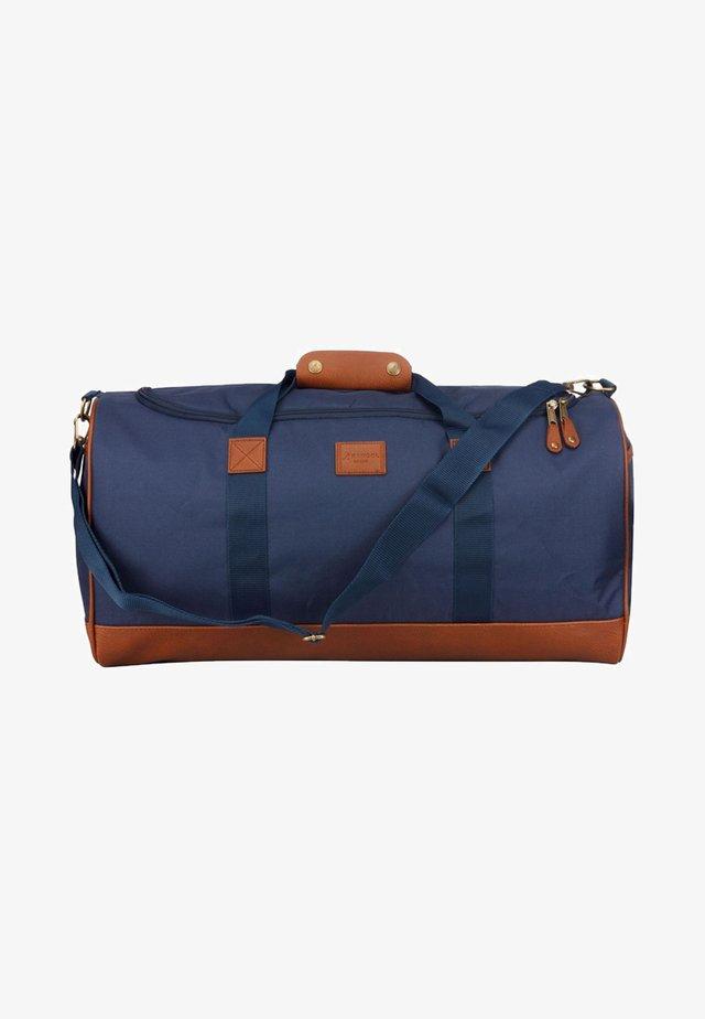 Sac de voyage - navy blue/brown
