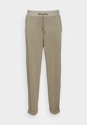 PANT - Tracksuit bottoms - dark khaki