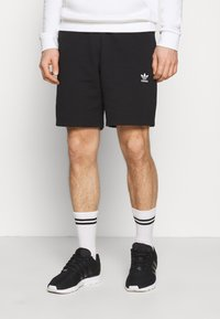 adidas Originals - ESSENTIAL UNISEX - Shorts - black - 0