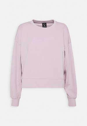 DRY GET FIT CREW - Sweatshirt - iced lilac/white