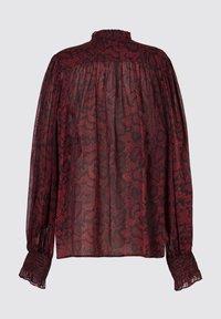 AllSaints - LEONIE STANZA SHIRT - Button-down blouse - red - 3