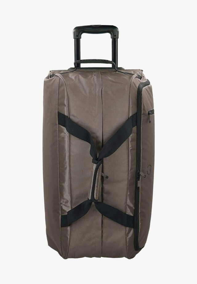 MAUBOURG - Wheeled suitcase - brown