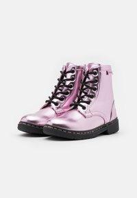 Kappa - DEENISH SHINE UNISEX - Veterboots - rosé/black - 1