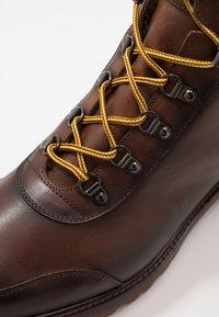 Giorgio 1958 - Lace-up ankle boots - ohio/castagno - 5