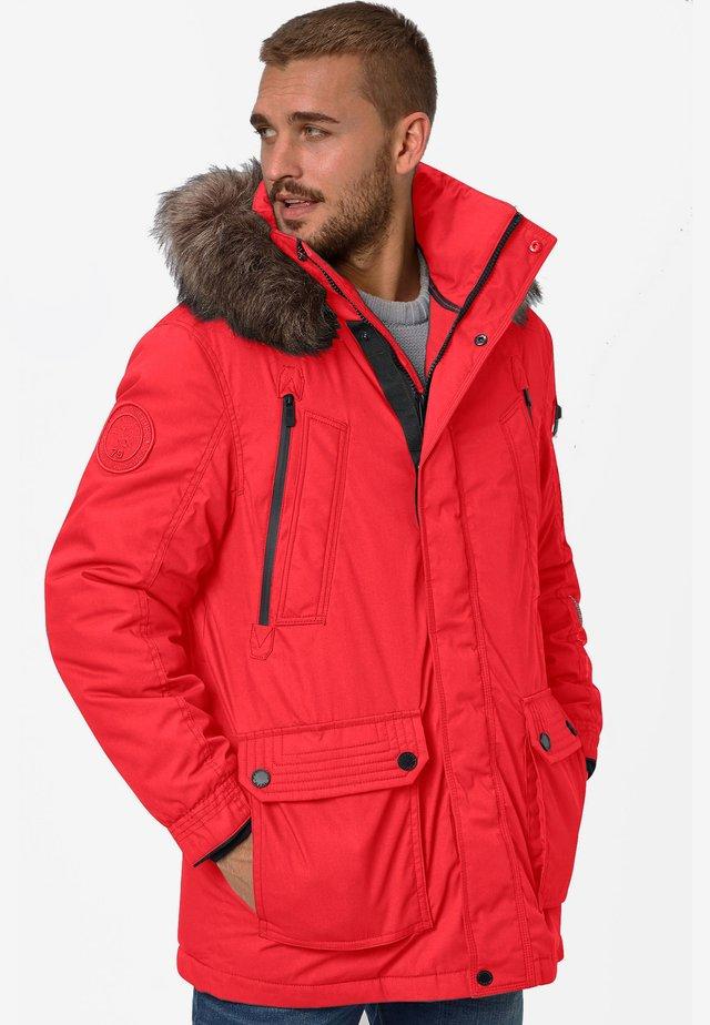 EDDY - Winter coat - red