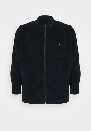 ZIP LONG SLEEVE - Shirt - navy/black