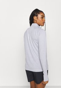 Nike Performance - PACER - Sports shirt - light smoke grey/reflective silver - 2