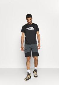 Haglöfs - RUGGED FLEX MEN - Outdoor shorts - magnetite/true black - 1