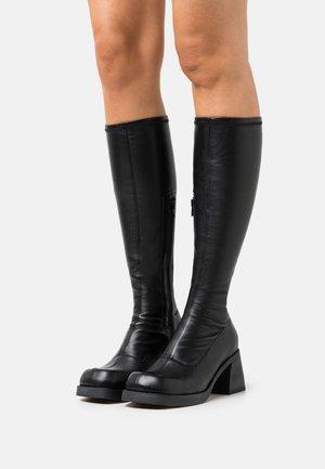 HEDY - Vysoká obuv - black