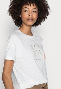 Esprit - T-shirts print - off white - 4