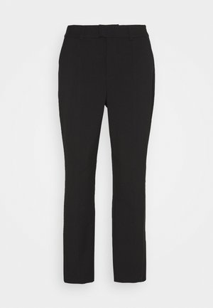 KAMERLE 7/8 PANTS - Pantalones - black deep