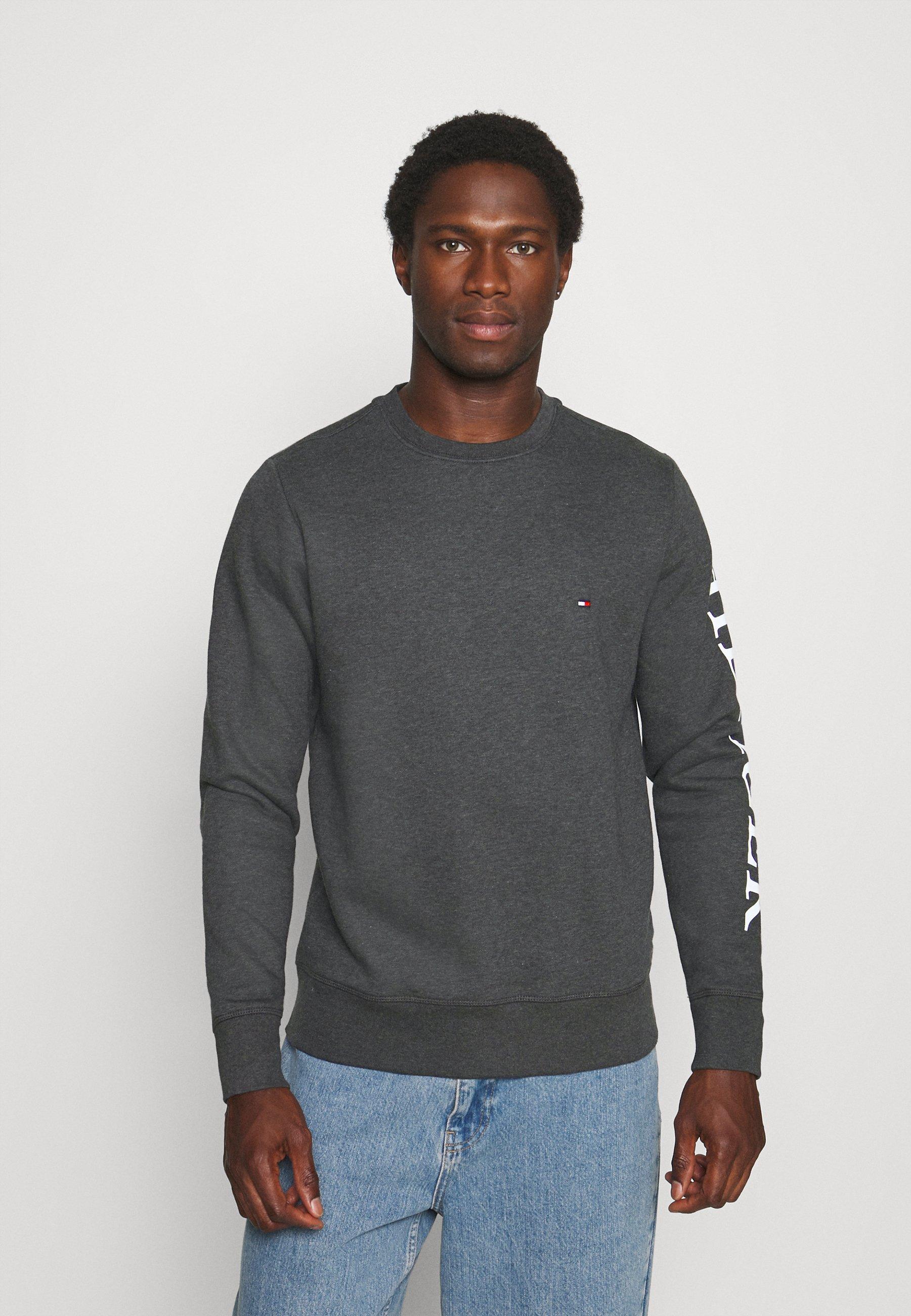 Men LOGO ON SLEEVE CREWNECK - Sweatshirt