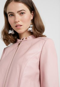 MAX&Co. - DENOTARE - Leather jacket - pink - 3