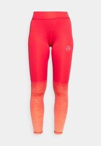 PATCHA LEGGINGS - Collant - hibiscus/flamingo