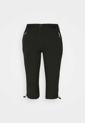 CAPRI LIGHT - 3/4 sports trousers - black