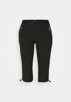 CAPRI LIGHT - 3/4 sportovní kalhoty - black