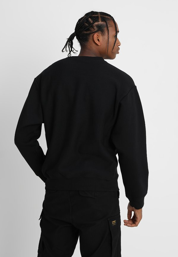 Carhartt WIP AMERICAN SCRIPT - Bluza - black/czarny Odzież Męska YLTU