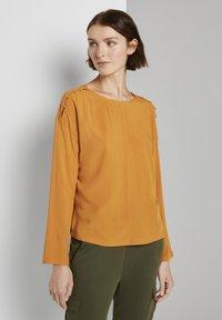 TOM TAILOR DENIM - Blouse - orange yellow - 0