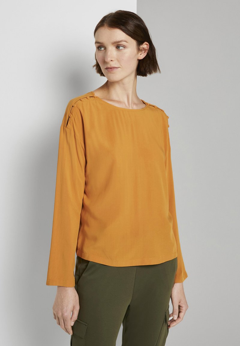 TOM TAILOR DENIM - Blouse - orange yellow