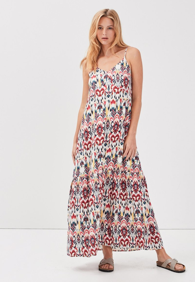 BONOBO Jeans - MIT TRÄGERN - Maxi dress - multicolore