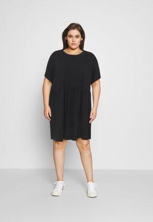 NMKERRY SHORT DRESS - Jerseykjole - black