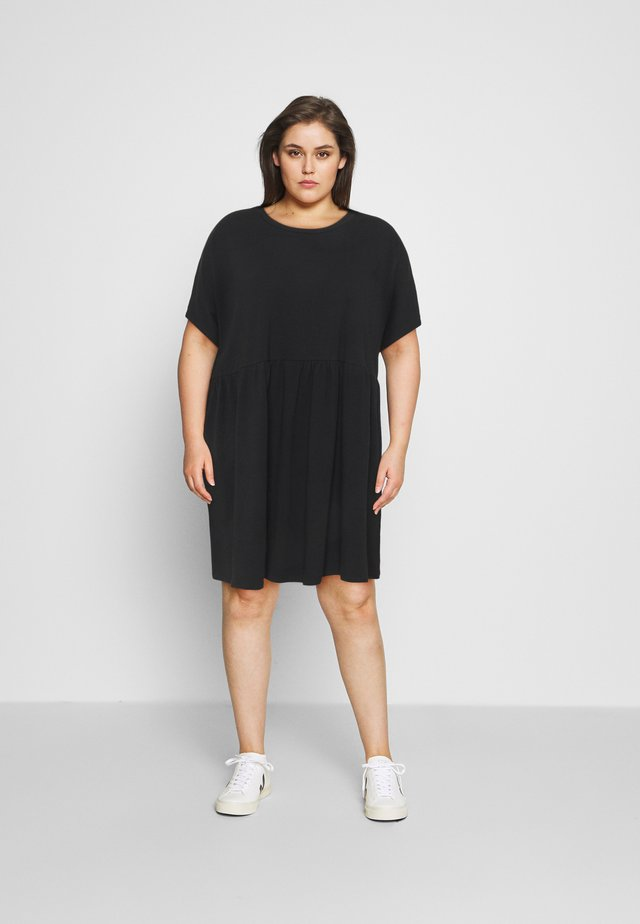 NMKERRY SHORT DRESS - Jerseyjurk - black
