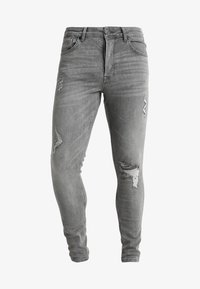 Gym King - DISTRESSED - Jeans Skinny Fit - mid grey - 5