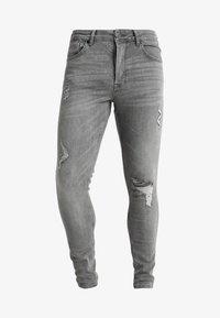 DISTRESSED - Jeans Skinny Fit - mid grey