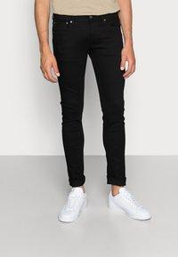 Jack & Jones - JJILIAM JJORIGINAL  - Slim fit jeans - black - 0