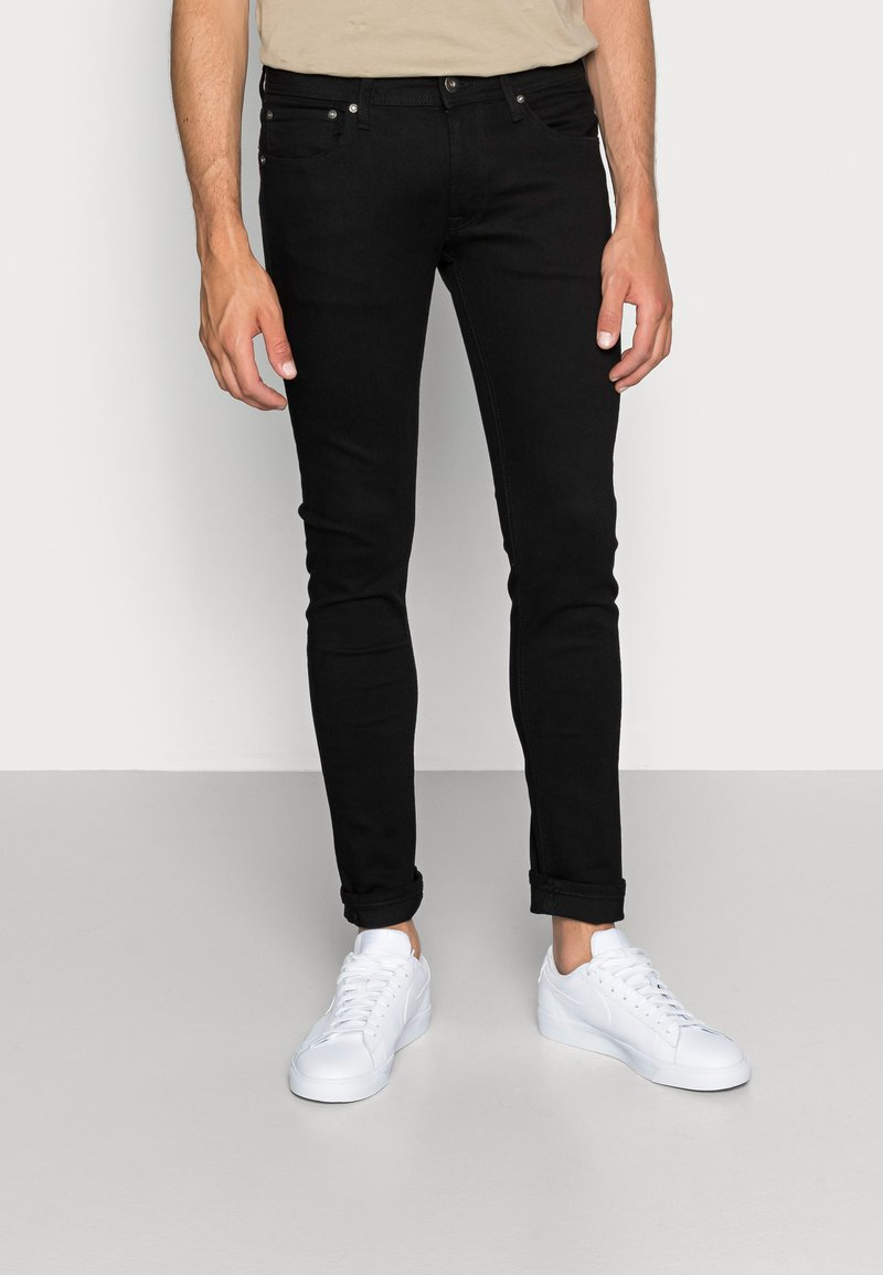 Jack & Jones - JJILIAM JJORIGINAL  - Slim fit jeans - black