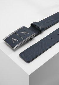 Armani Exchange - BELT - Belt - navy - 2