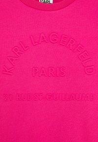KARL LAGERFELD - DRESS - Day dress - fuschia - 2