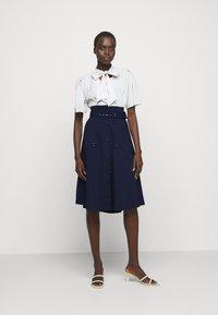 Steffen Schraut - FANCY SKIRT - A-line skirt - navy blue - 1