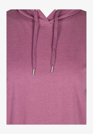 SHORT SLEEVES - Hoodie - grape nectar melange
